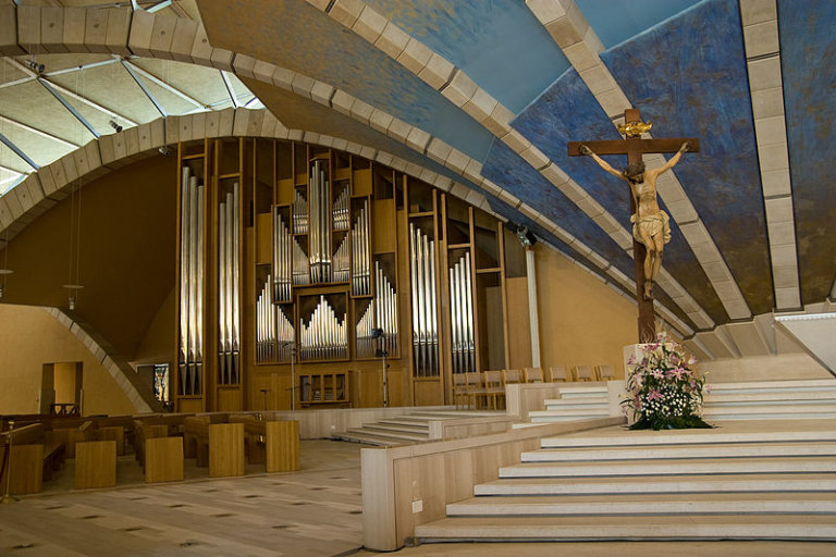 organo Santuario Nuovo San Giovanni Rotondo