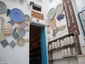 Negozio di Ceramiche, Peschici