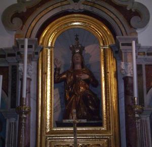 Statua della Madonna di Merino