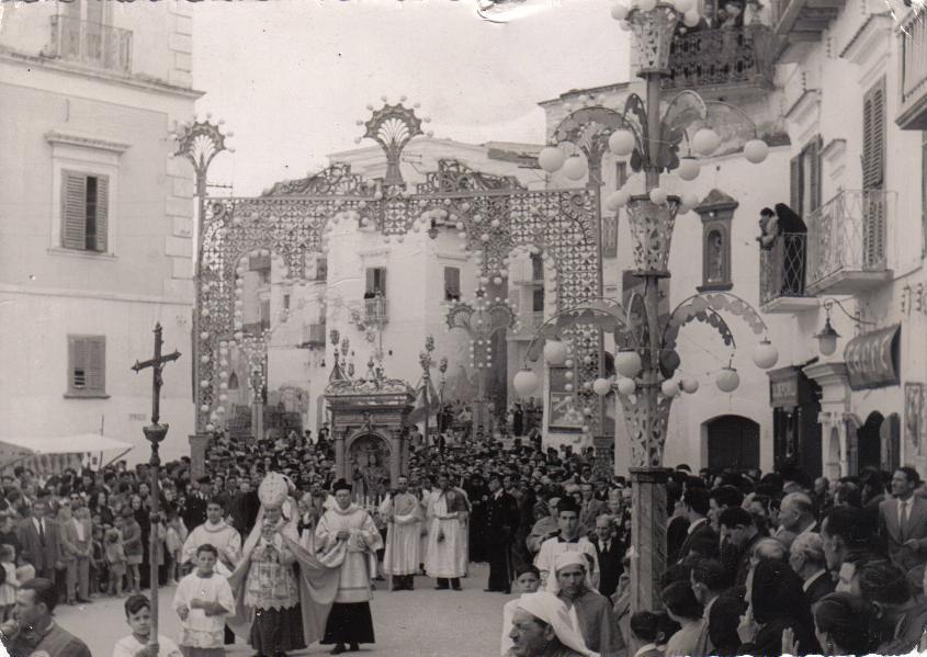 Vieste, festa di Santa Maria 1951 - autore ignoto