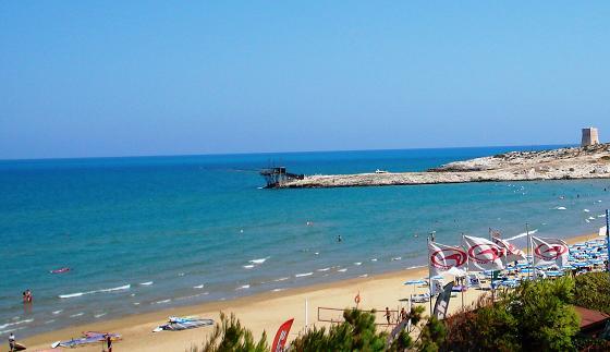 spiaggia scialmarino vieste