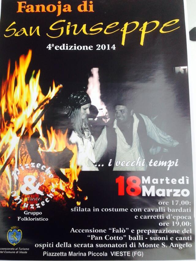 fanoja San Giuseppe vieste