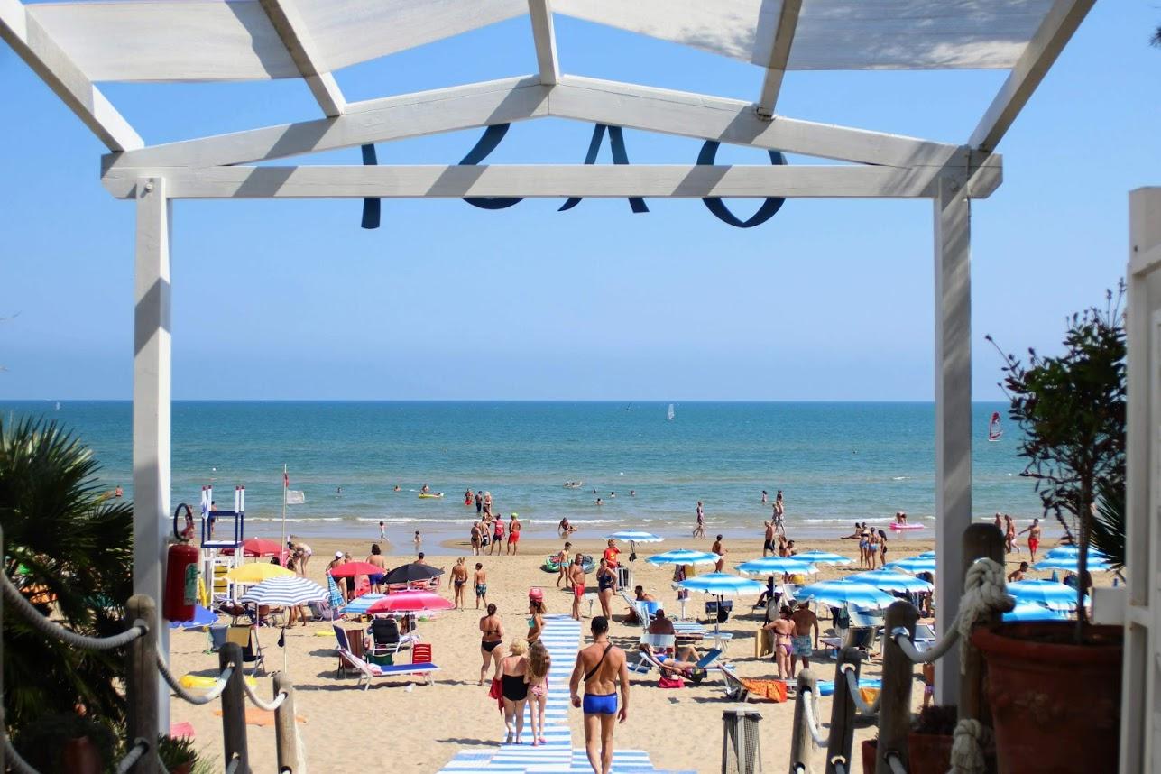 spiaggia di scialmarino, ingresso dall'oasi