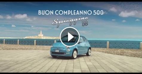"Video – La ""500 Spiaggina"" a Vieste"