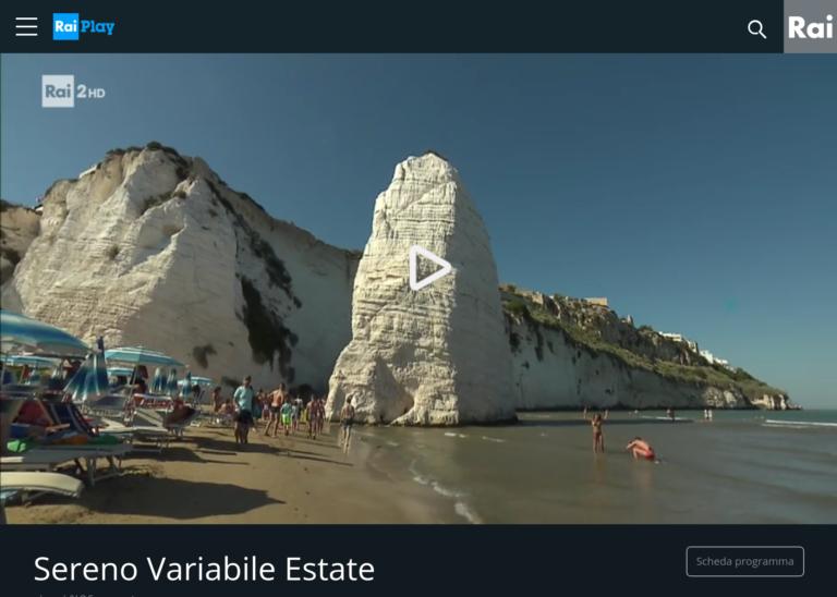Sereno Variabile Estate, la puntata dedicata a Vieste