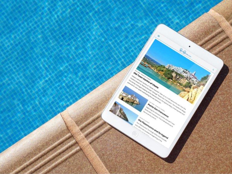 Nasce VisitVieste.com, portale turistico interamente in lingua Inglese