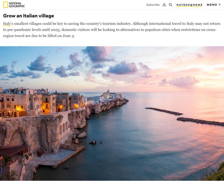 Vieste di nuovo sul National Geographic